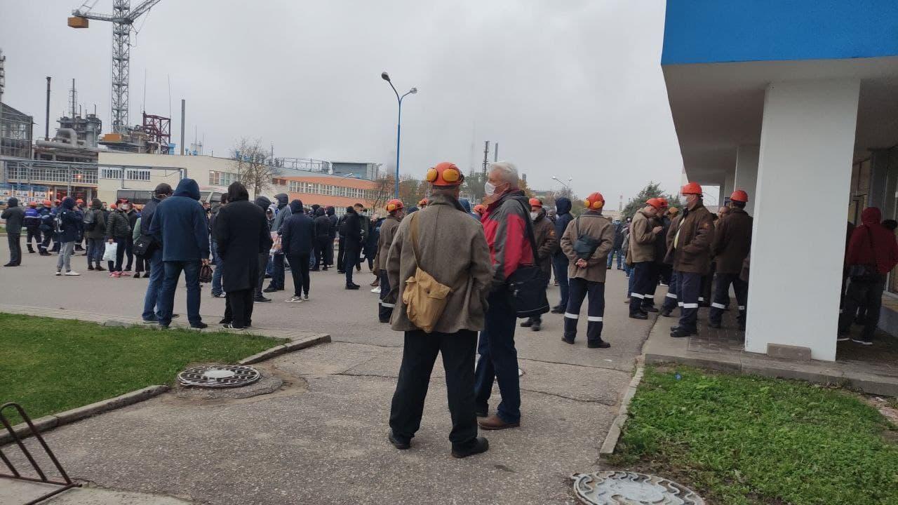 26 октября 2020 Гродно Азот - Общереспубликанский страйк