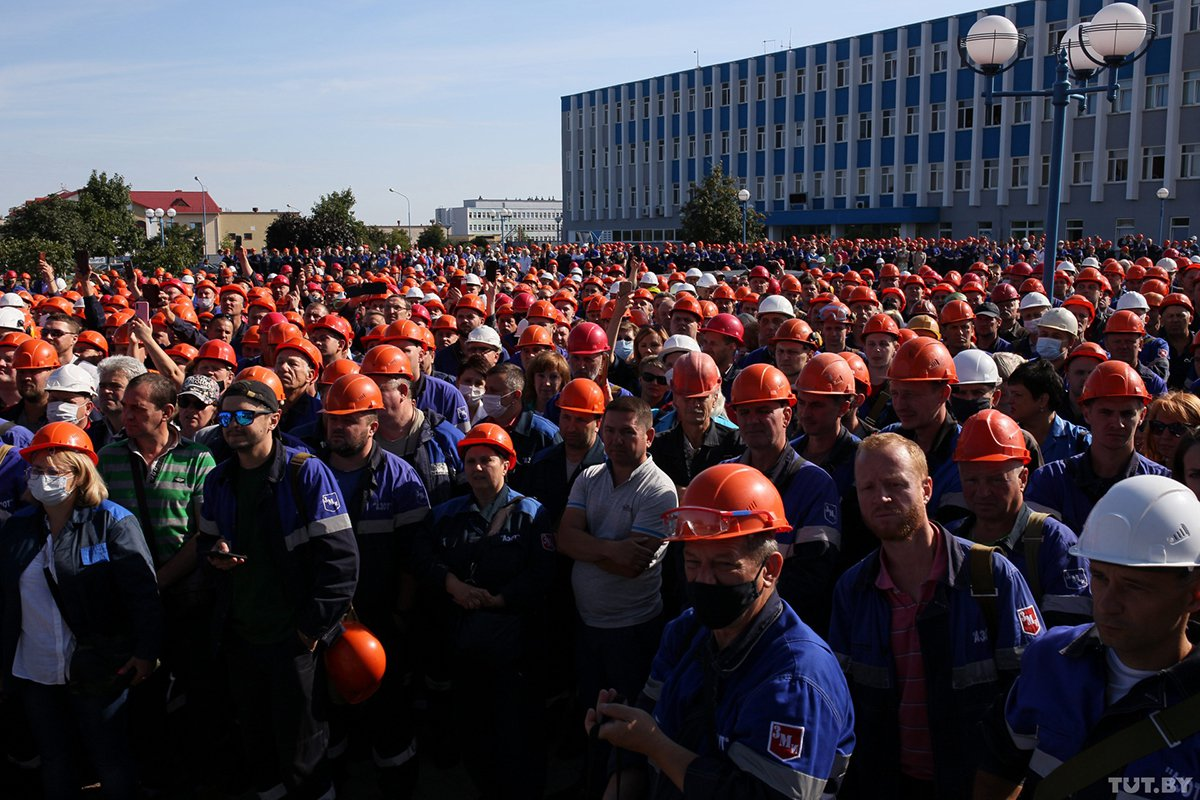 Бывший сотрудник администрации Лукашенко призвал к всеобщей забастовке