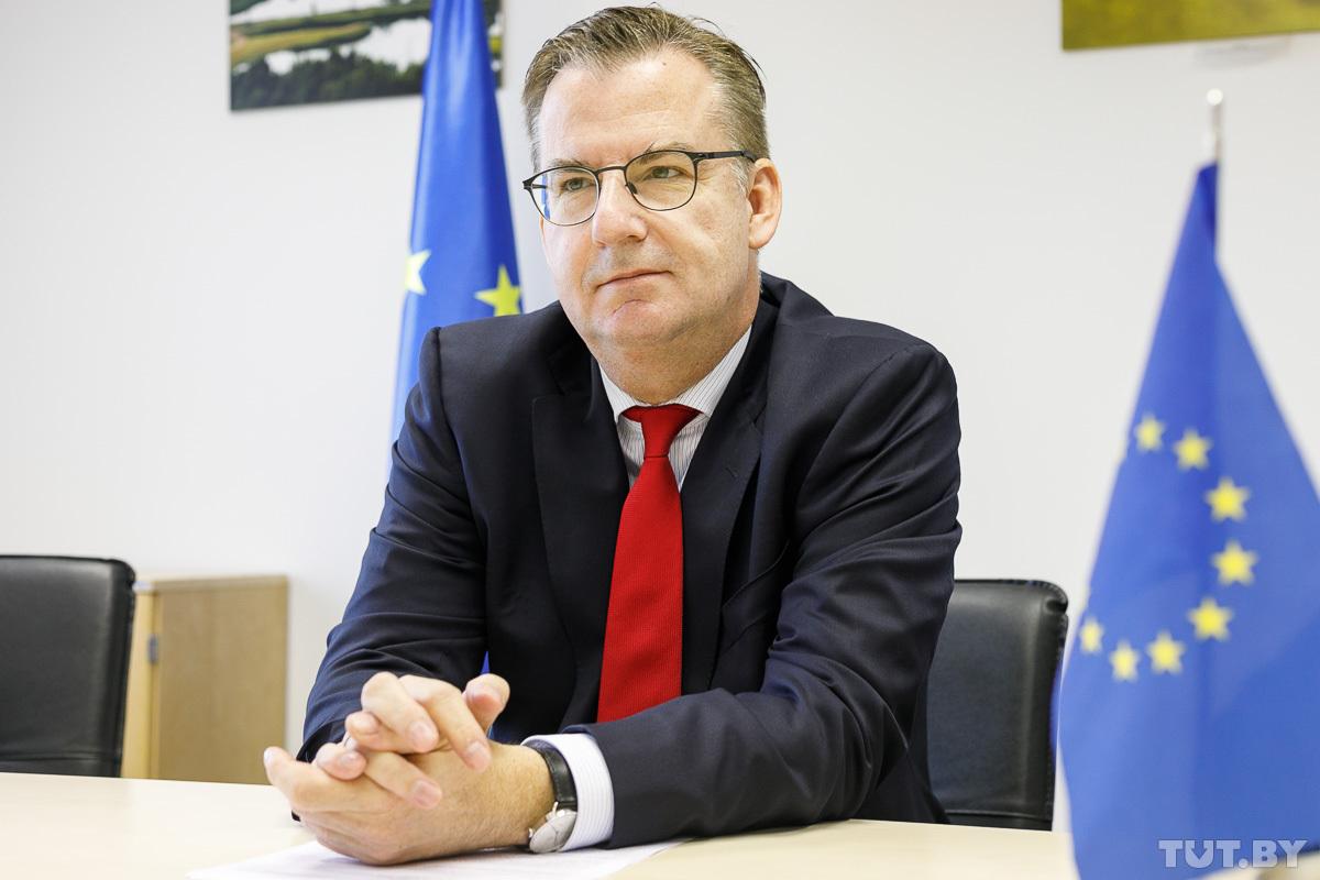 Интервью с главой Представительства ЕС по ситуации в Беларуси